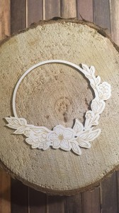 Tekturka Fairy Flower Wreath