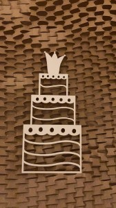 Tekrurka Crown Cake-2szt