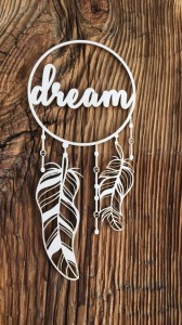 Tekturka Dream dreamcatcher